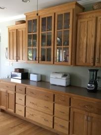 Custom Ash Cabinets