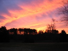 firey winter sunrise 2